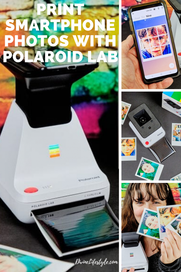 Print Smartphone Photos with Polaroid Lab #polaroidoriginals
