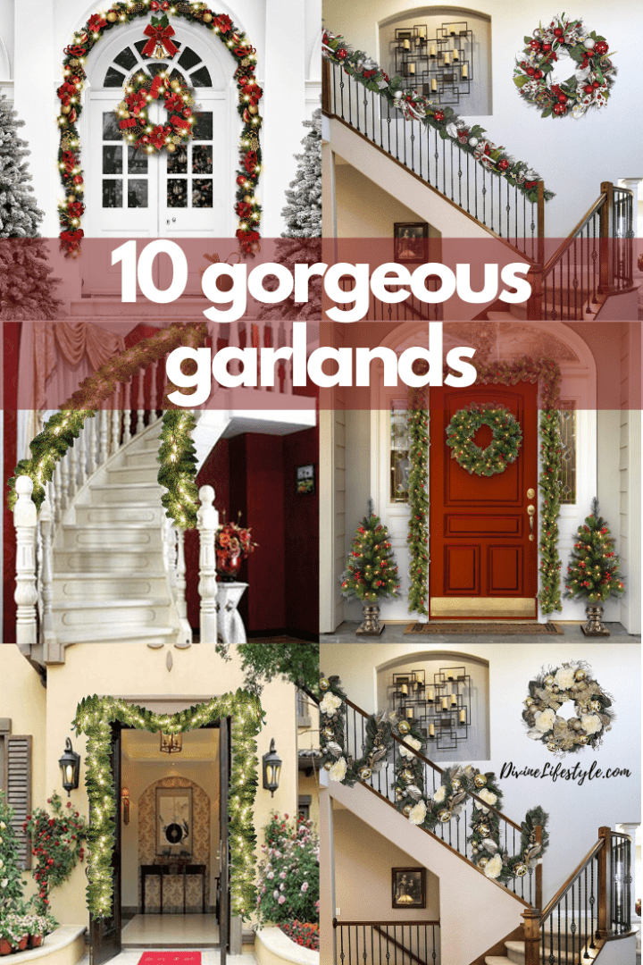 10 Gorgeous Christmas Garland Ideas