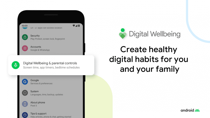 Healthy Digital Habits family
