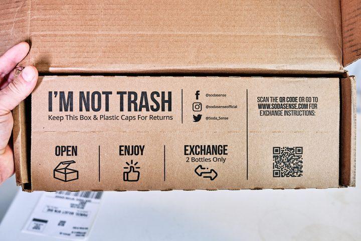 Soda Sense Return Instructions