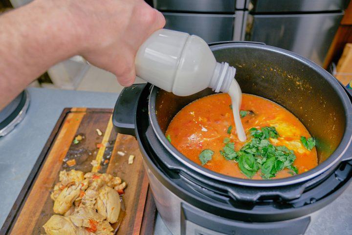 Instant Pot Chicken Tortellini Soup Step 9