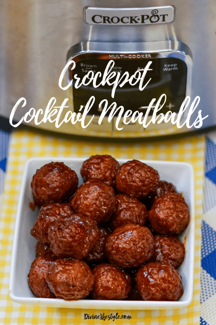 Best Cocktail Meatballs Crockpot Recipe