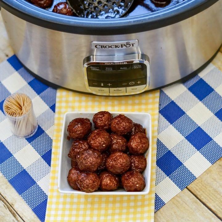 Best Cocktail Meatballs Crockpot Recipe