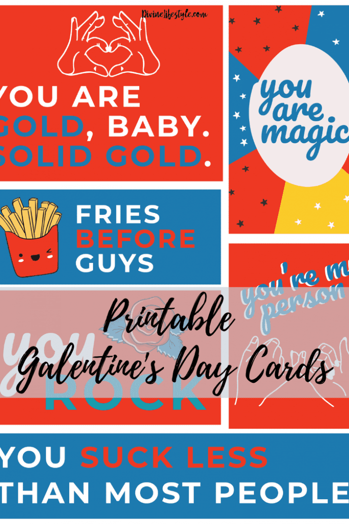 Galentine S Day Free Printables Valentine S Day Cards