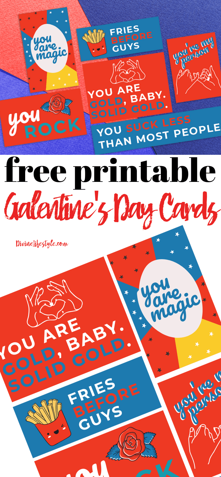 Galentine's Day Free Printables