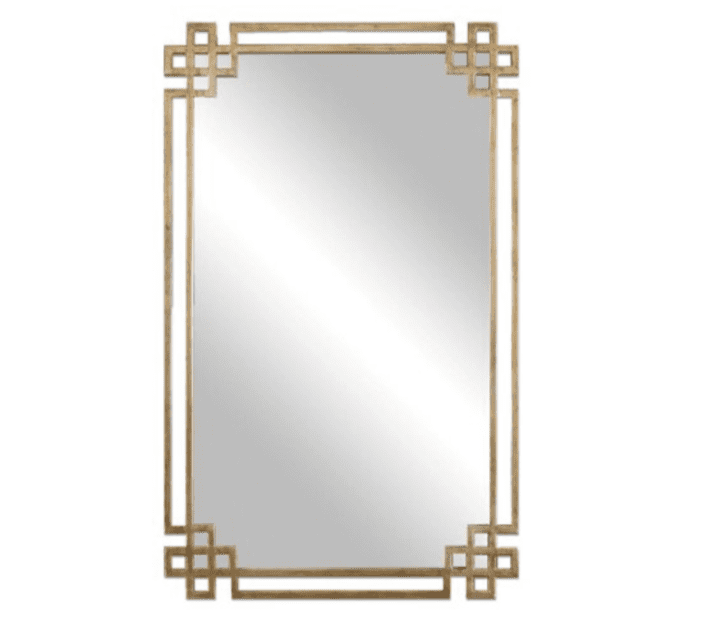 One Kings Lane Evelyn Wall Mirror, Gold Chic Sitting Room Ideas