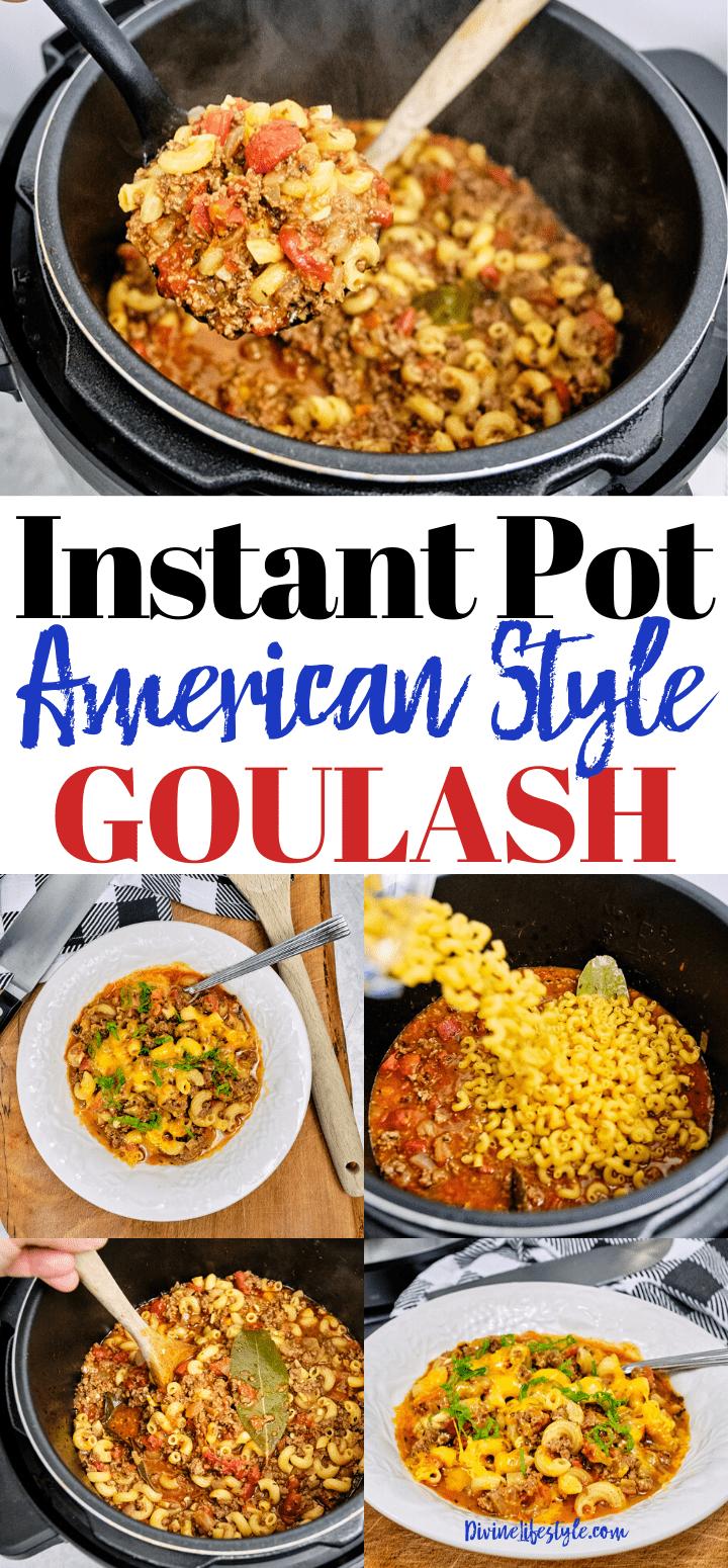 Best Instant Pot American Goulash Recipe