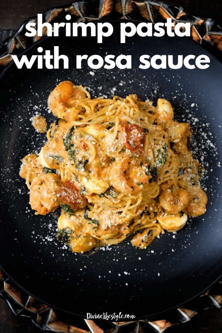 Best Shrimp Pasta with Rosa Sauce Recipe