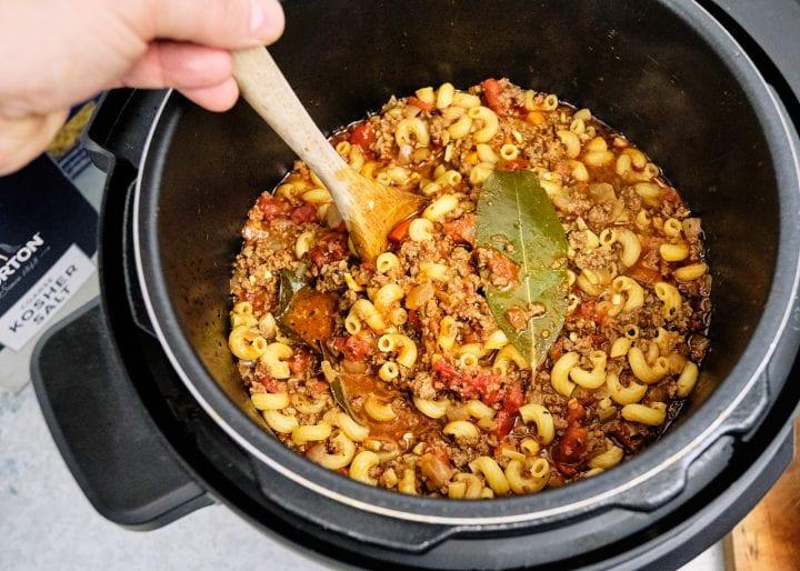 Instant Pot American Goulash Recipe - In the Pot