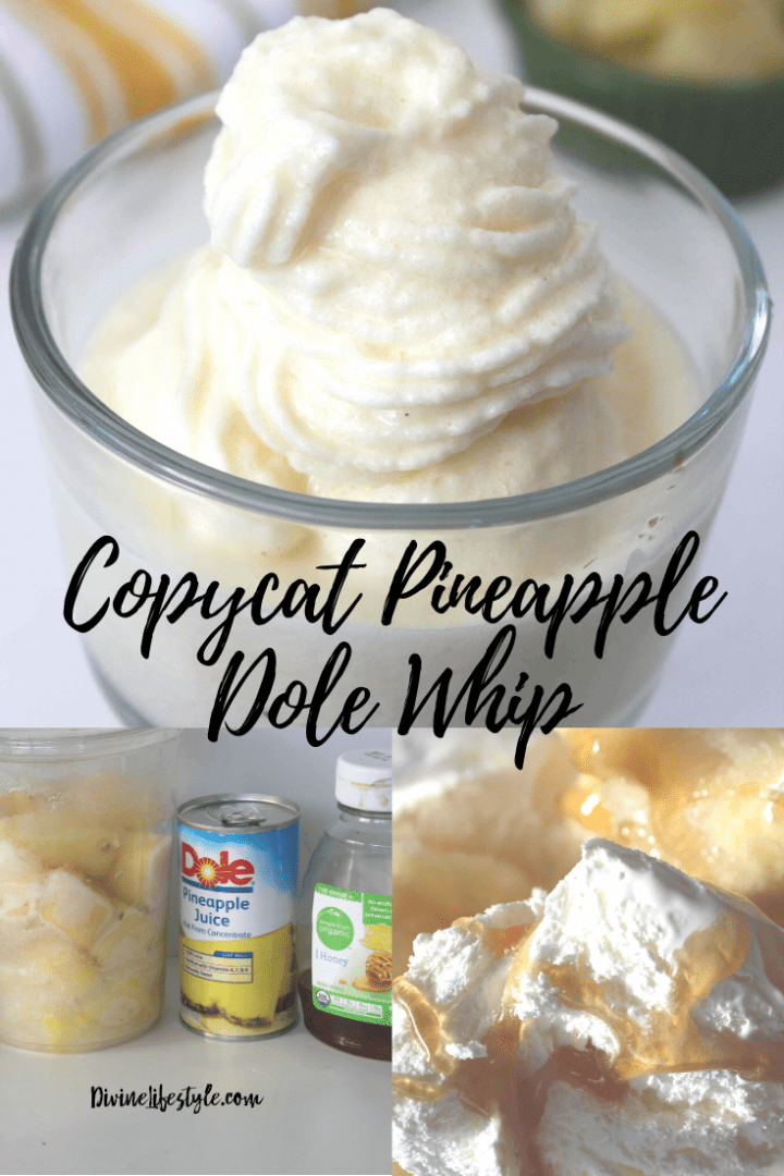 Copycat DIY Disney Frozen Pineapple Dole Whip