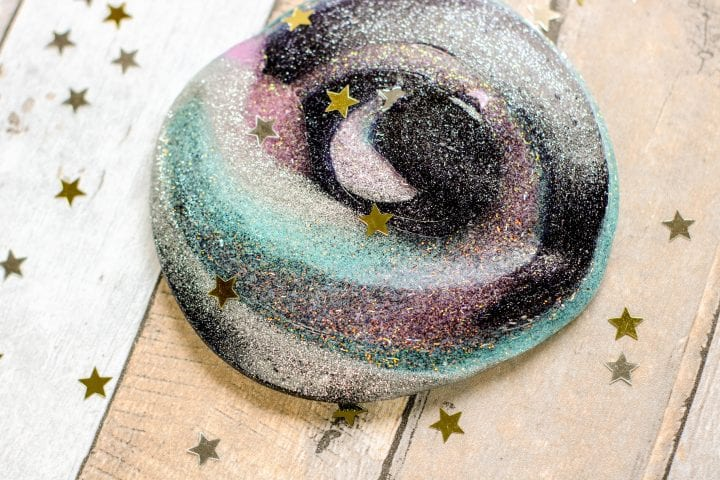 Easy DIY Galaxy Slime Recipe