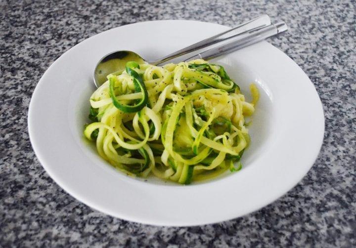 Easy Sauteed Zucchini Noodles Recipe