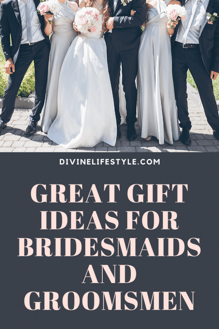 Great Gift Ideas For The Bridesmaids and Groomsmen