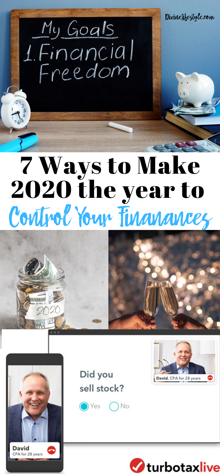7 Ways to Make 2020 the Year to Take Control of My Finances