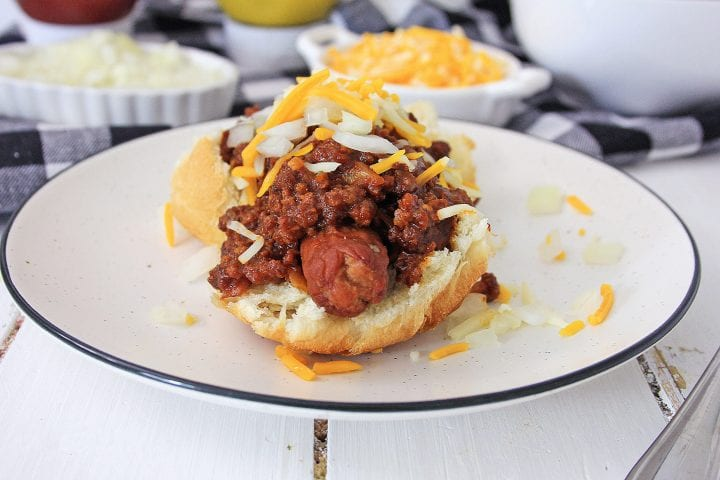 Air Fryer Hot Dogs and Chili Sauce Recipe