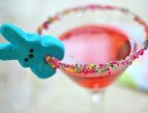 Bunny PEEPS Easter Martini