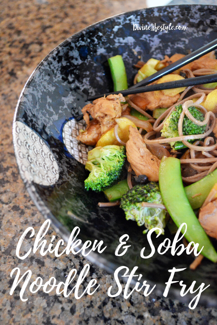 Chicken and Soba Noodle Stir Fry