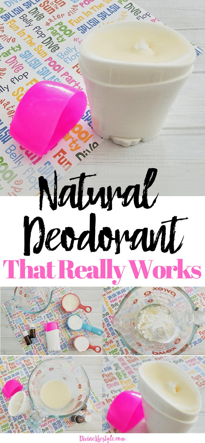 DIY Natural Deodorant That Works