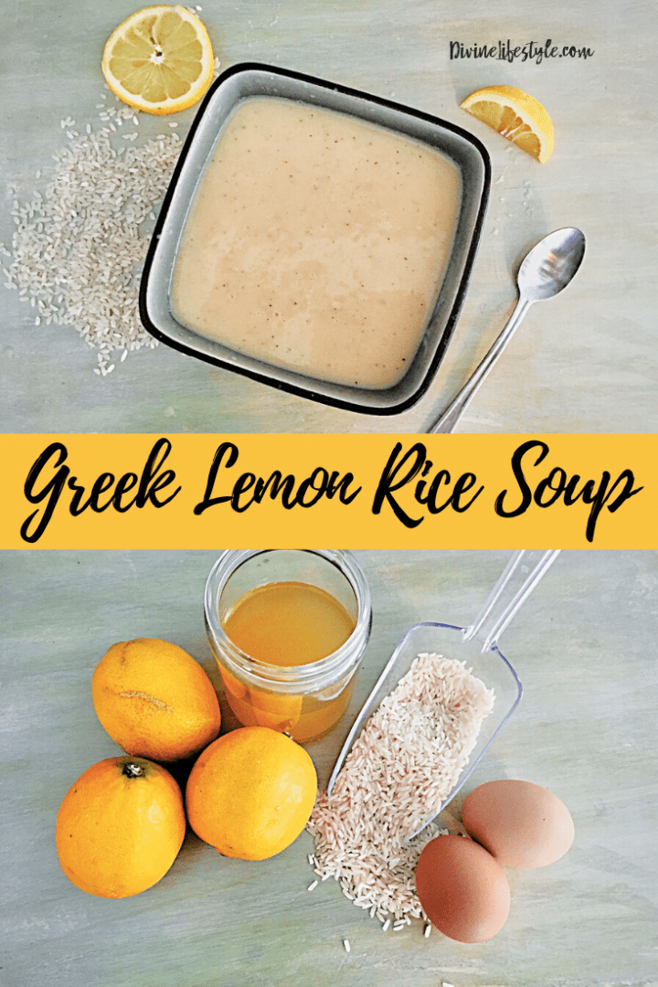 Best Greek Lemon Rice Soup Recipe