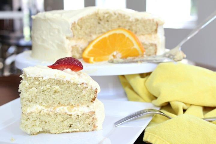 Orange Vanilla Cake