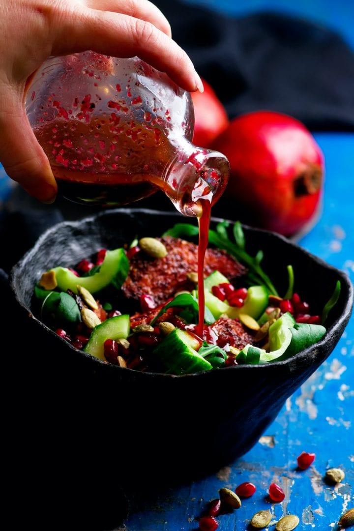 Pomegranate Balsamic Vinaigrette Dressing