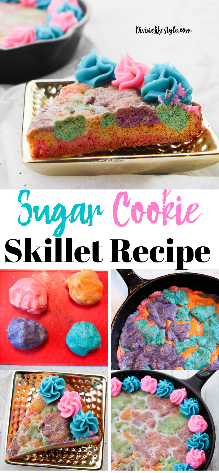 Skillet Sugar Cookie Recipe