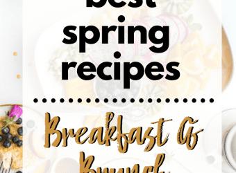 Spring Breakfast Brunch Recipes