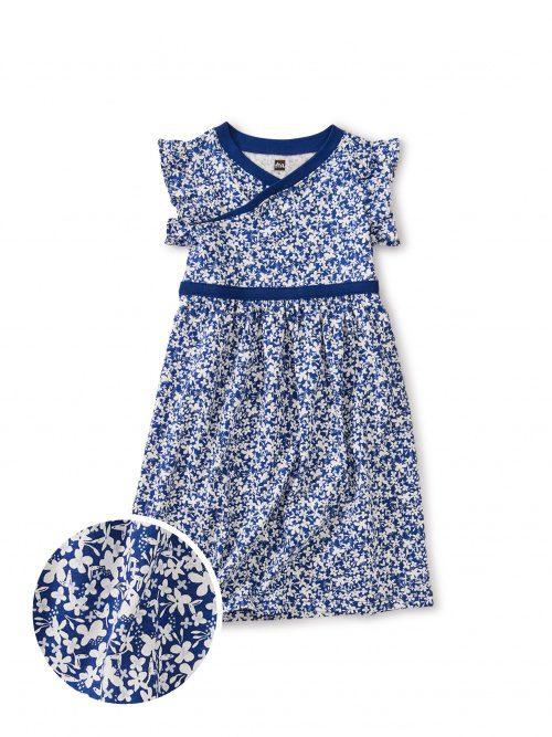 Playful Summer Girls Dresses Tea Collection 40 OFF Sale Tea Wrap Neck Dress