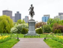 A walking tour of Boston