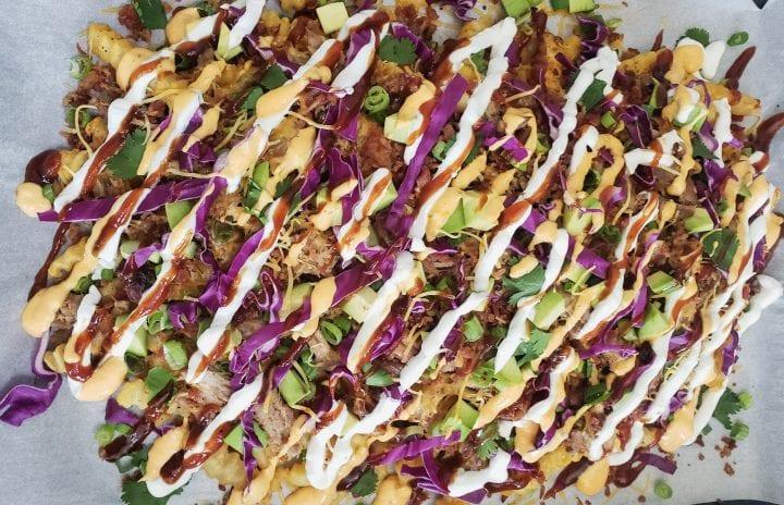 BBQ Pulled Pork Nachos Recipe