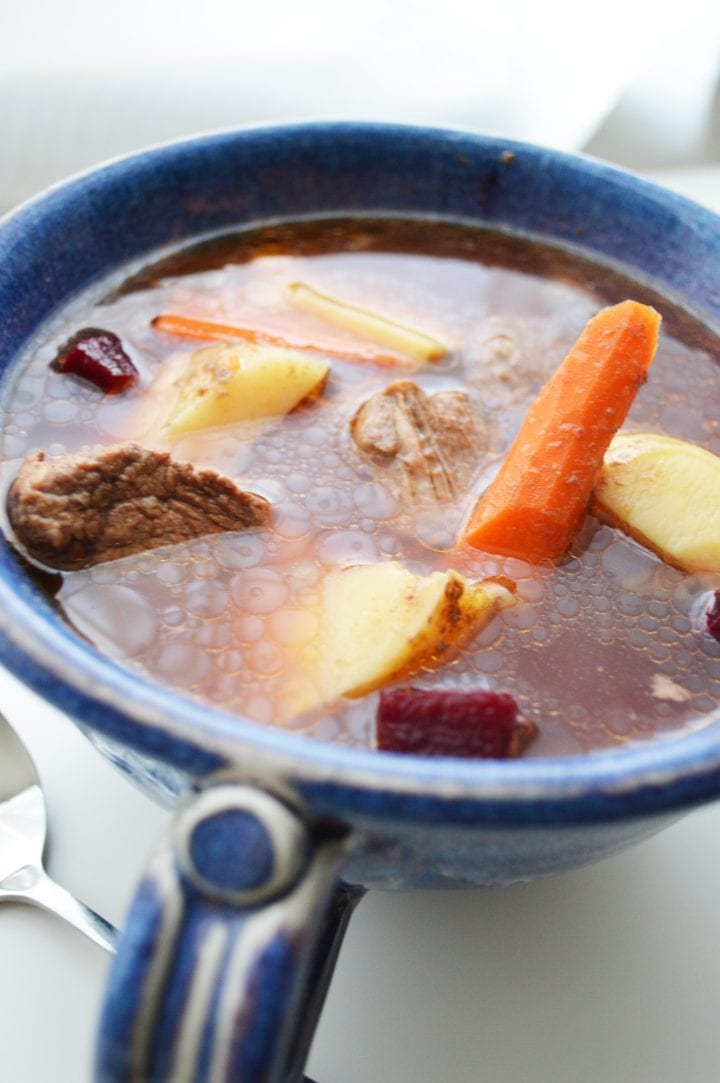Easy Slow Cooker Beef Stew with Root Vegetables Recipe