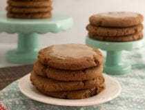 Chewy Molasses Cookie Recipe with Icing
