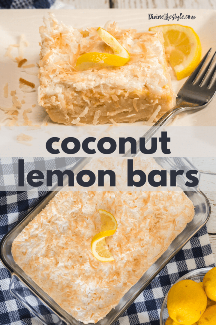 Coconut Meyer Lemon Bar Recipe