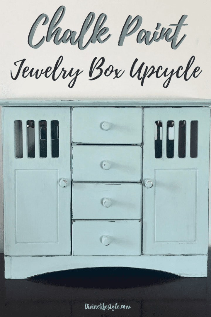 DIY Chalk Paint Jewelry Box
