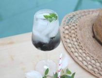 Fresh Blackberry Mint Infused Water Recipe