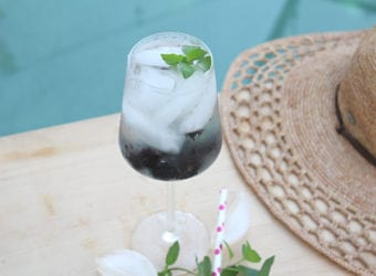 Fresh Blackberry Mint Infused Water Recipe