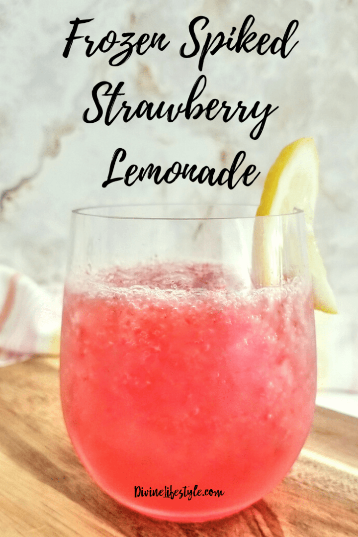 hard strawberry lemonade