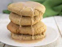 Glazed Pumpkin Spice Cookies Recipe