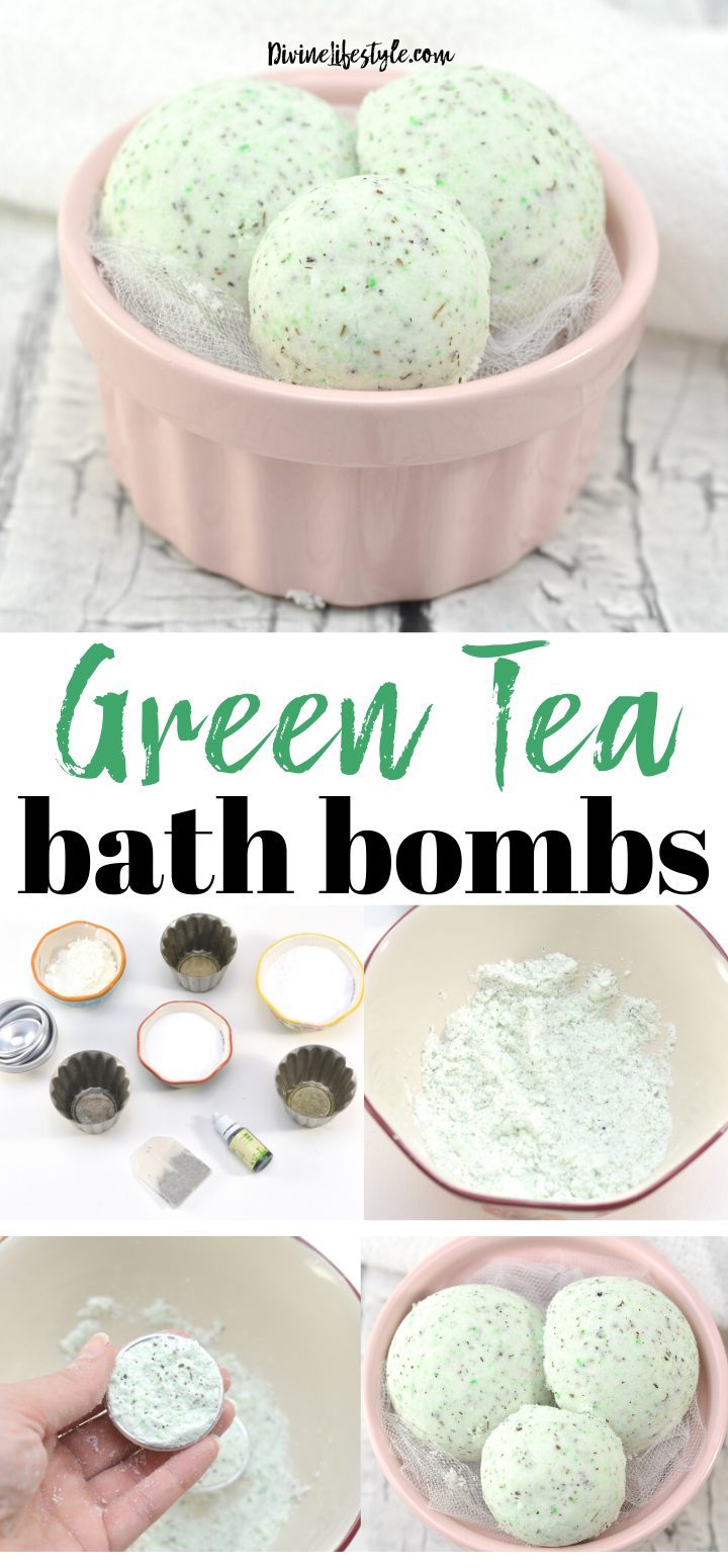 Green Tea Bath Bombs Recipe