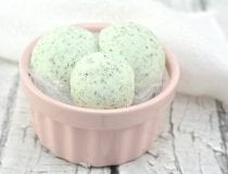 Green Tea Bath Bombs Recipe
