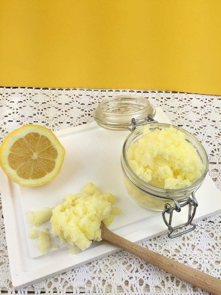 Lemongrass Face Scrub