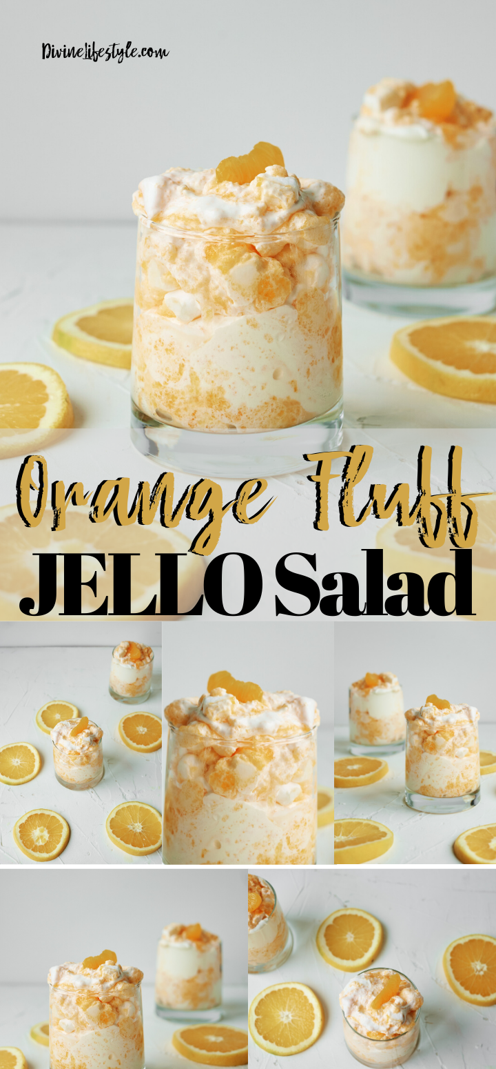Orange Fluff Jello Salad mandarin orange fluff salad