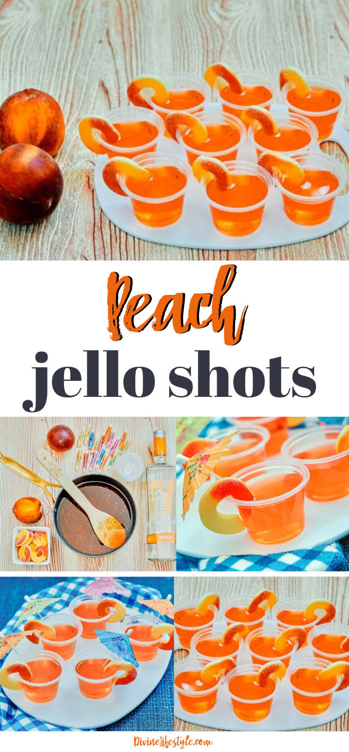 Peach Jello Shots Recipe