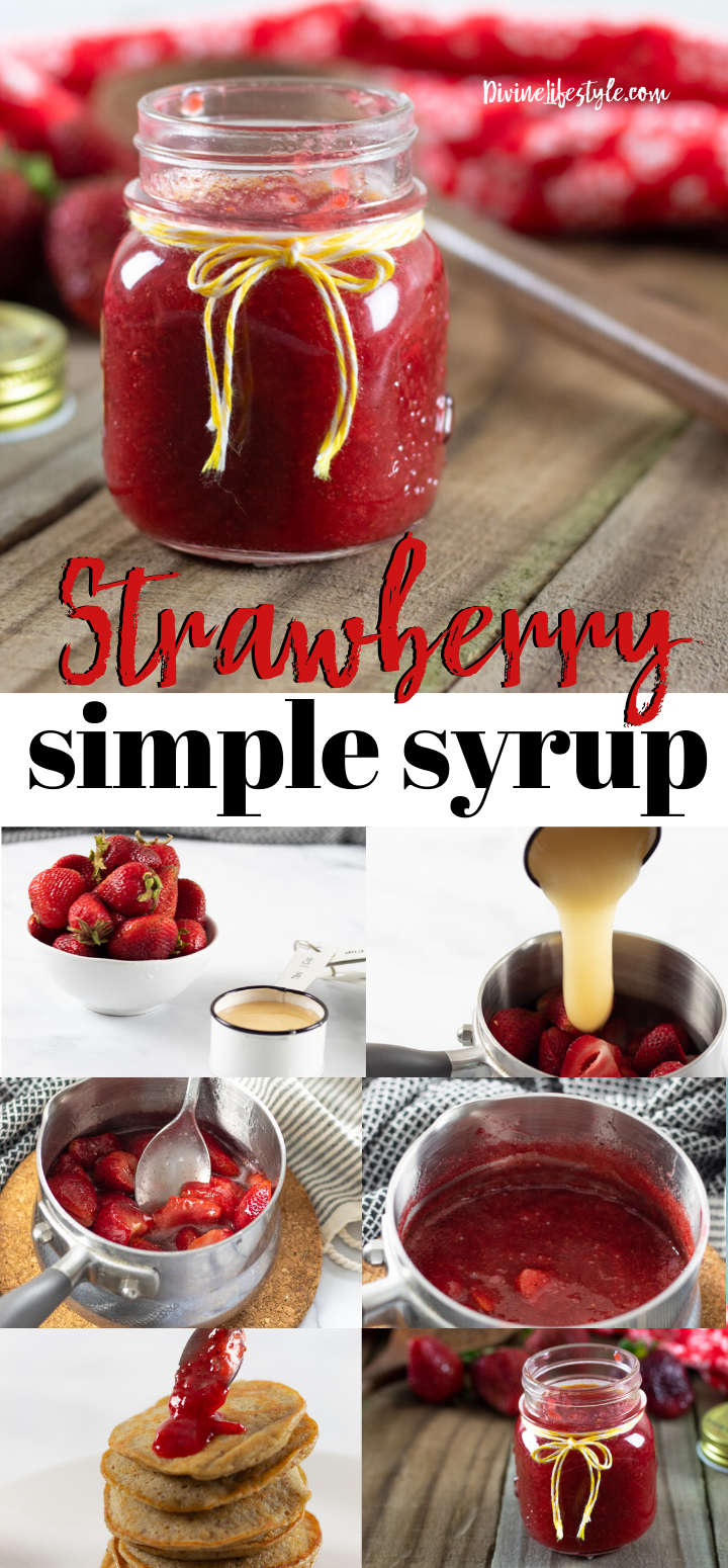 Quick Strawberry Syrup with Honey Recipe