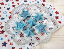 Patriotic Stars Exfoliating DIY Melt and Pour Soap Bars
