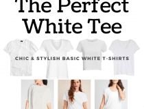 Simple and Chic: The Perfect Womens White Tee