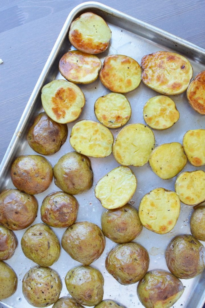 Veggie Stuffed Potato Skins Recipe