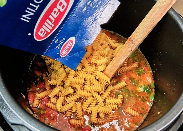 Instant Pot Homemade Hamburger Helper Recipe - Add Pasta