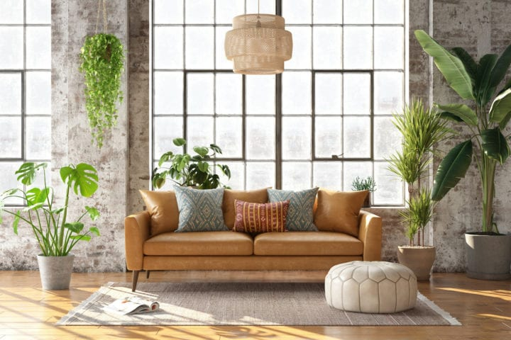 How to transform your tired living room in four easy steps