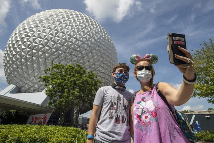 Disney Epcot Covid Reopening